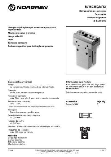 Garras paralelas, dupla ação, embolo magnético ... - Coppi.com.br