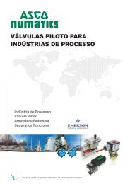 VÁLVULAS PILOTO PARA INDÚSTRIA DE PROCESSO - Coppi