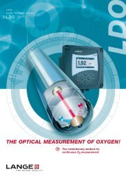 THE OPTICAL MEASUREMENT OF OXYGEN!