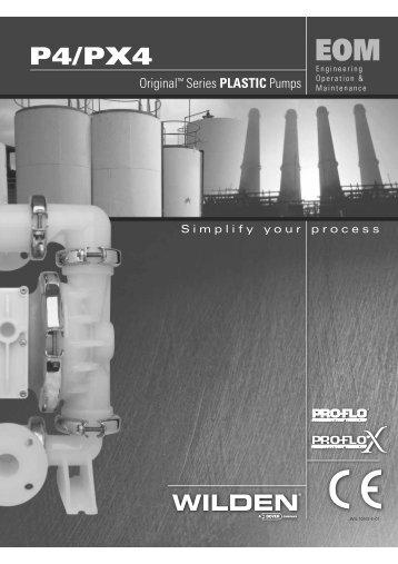 P4/PX4 - Process Pumps