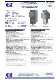 PCA IP65 - Ettore Cella SPA
