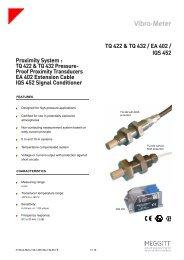 TQ 422 & TQ 432 / EA 402 / IQS 452 Proximity System