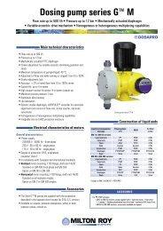 Dosing pump series G™ M - Hyxo