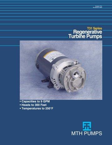 T31, T41, T51 Series - Process Pumps