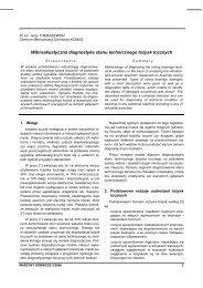 maszyny górnicze 2/2006 - Instytut Techniki Górniczej KOMAG