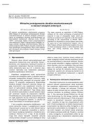maszyny górnicze 2/2005 - Instytut Techniki Górniczej KOMAG