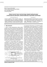 maszyny górnicze 3/2006 - Instytut Techniki Górniczej KOMAG