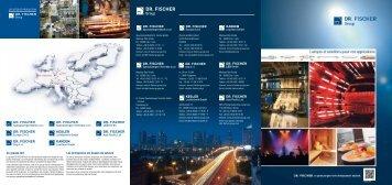 Solutions pour vos Applications.pdf - DR. FISCHER Gruppe