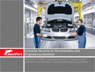 Automotive and Engineering Industries Brochure - Flextraction