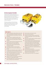 Electronic Sirens – Portable - Klaxon Signals Ltd.