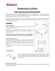 Klaxalarm Boxer (17-970303) - Klaxon Signals Ltd.
