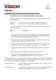 FP2C Siren - Klaxon Signals Ltd.
