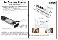 inferno leaflet - Klaxon Signals Ltd.