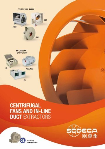 Centrifugal Fans Brochure - Flextraction.co.uk