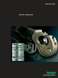 Hydraulic Crimping Tools and Dies - Surgetek