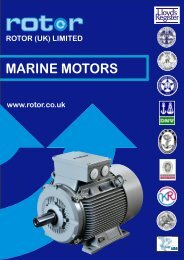 MARINE MOTORS - Rotor UK