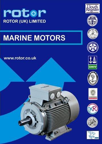 MARINE MOTORS - Rotor UK