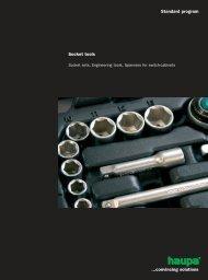 Standard program Socket tools ...convincing solutions - Surgetek