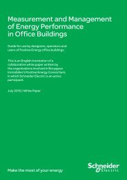 Measurement and Management of Energy ... - Schneider Electric