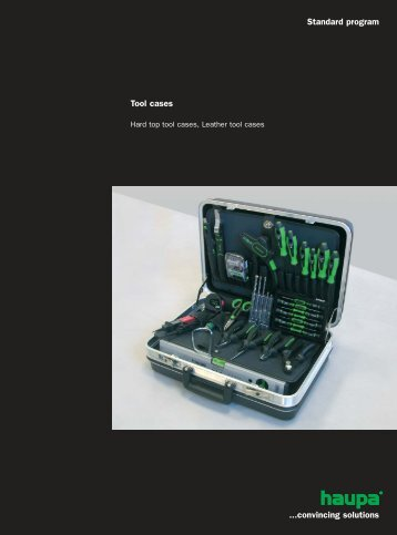 Tool cases Standard program ...convincing solutions - Surgetek
