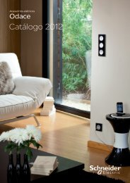 Catálogo Odace 2012 - Schneider Electric