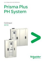 Prisma Plus PH System - Schneider Electric