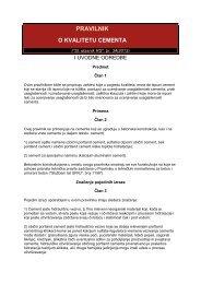 464 Pravilnik o kvalitetu cementa - Akreditaciono telo Srbije