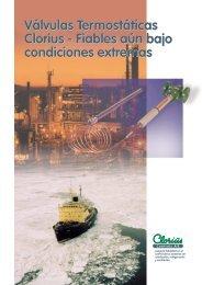Válvulas Termostáticas Clorius - Fiables aún bajo ... - Clorius Controls