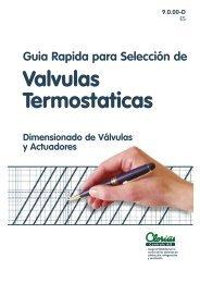 Guia Rapida para Selección de Valvulas ... - Clorius Controls