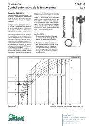 Duostatos, Control automático de la temperatura - Clorius Controls