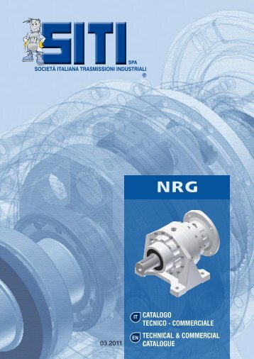 NRG catalogo commerciale - Siti SpA