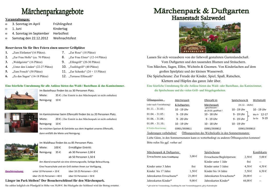 1 Free Magazines From Maerchenpark Duftgarten De