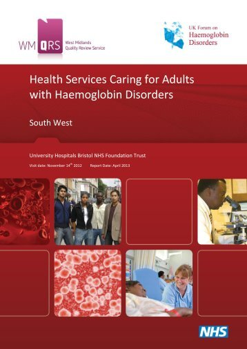 Adults with Haemoglobin Disorders quality review - United Bristol ...
