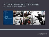 Hydrogen Energy Storage – NextGen - ITM Power