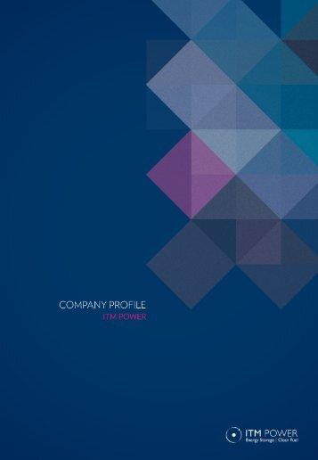 ITM Power Company Profile 2012