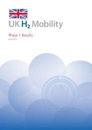 UK H2Mobility: phase 1 results - Gov.uk