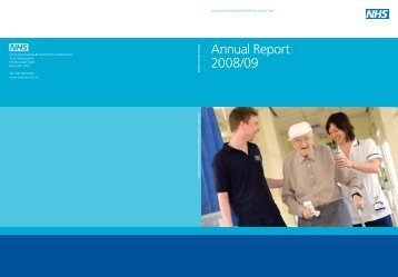 Annual Report 2008-2009 - United Bristol Healthcare NHS Trust