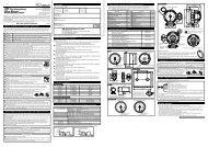 BF Tachometer & Blue Racer Gauge Tachometer Operation ... - Defi