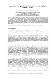 Agentes Software aplicados a la Gestión de Sistemas de ... - GIAA