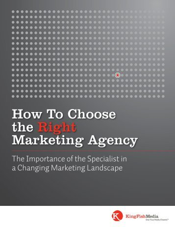How To Choose the Right Marketing Agency - King Fish Media