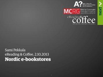 Nordic e-bookstores