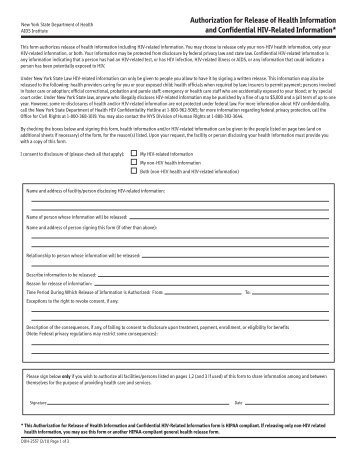 Hipaa Authorization Form - Sprinkler Fitters Local 281, Ua