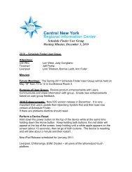 Fall 2010 Meeting Minutes - cnyric