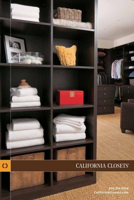 Solutions Brochure   California Closets