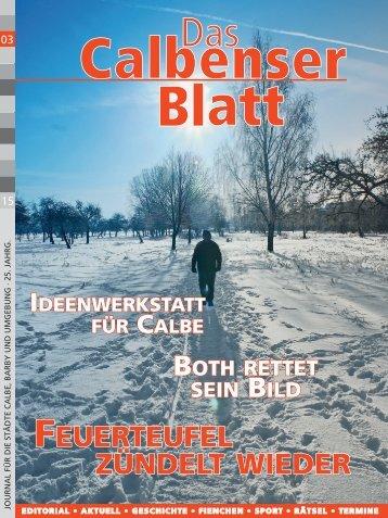 Calbenser Blatt 03/15