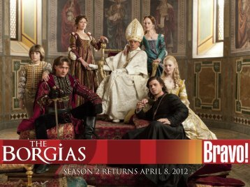 SEASON 2 RETURNS APRIL 8, 2012 - Bell Media