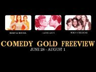 COMEDY GOLD FREEVIEW - Bell Media