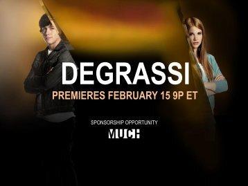 degrassi premieres february 15 9p et - Bell Media