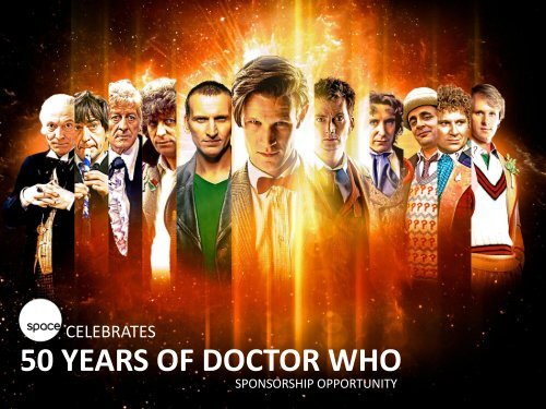 celebrating 50 Years of Doctor Who - Bell Media