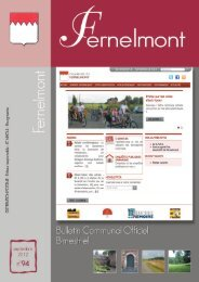 Bulletin Communal - Fernelmont